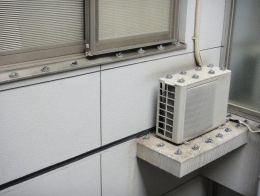 アパガーデンハイツ富山駅前東館 エアコン室外機