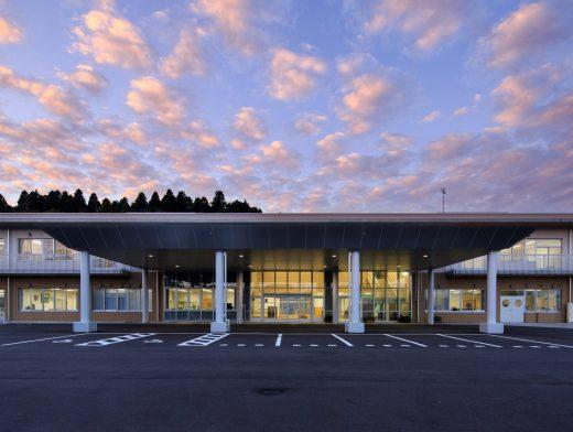 富山総合支援学校キャノピー新築工事