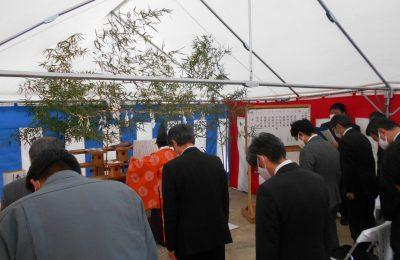 アイザック熊谷工場 地鎮祭を執り行いました。
